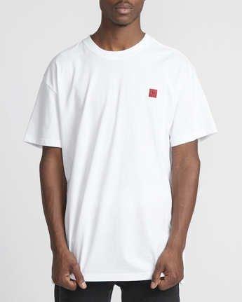 5 Smith Street Wicks  - Short Sleeve T-Shirt for Men White Q1SSRSRVF9 RVCA