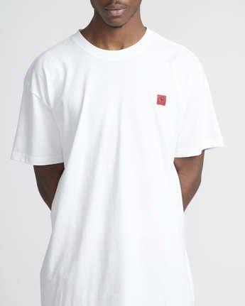 4 Smith Street Wicks  - Short Sleeve T-Shirt for Men White Q1SSRSRVF9 RVCA