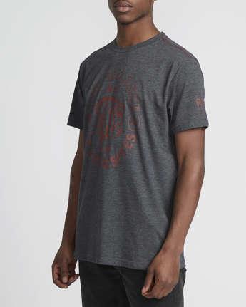 1 Siam  - Short Sleeve T-Shirt Grey Q1SSRTRVF9 RVCA