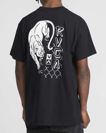 2 Prowler  - Short Sleeve T-Shirt Black Q1SSRVRVF9 RVCA