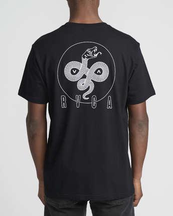 Serpent Curved  - Short Sleeve T-Shirt  Q1SSSBRVF9