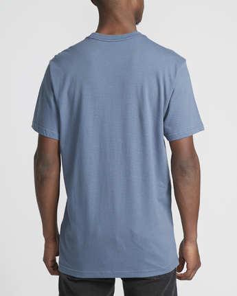 2 VA All The Ways Multi  - Short Sleeve T-Shirt Blue Q1SSSCRVF9 RVCA