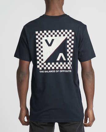 2 Check Mate  - T-Shirt à manches courtes pour Homme  Q1SSSDRVF9 RVCA