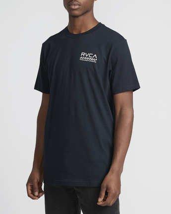 3 Check Mate  - T-Shirt à manches courtes pour Homme  Q1SSSDRVF9 RVCA
