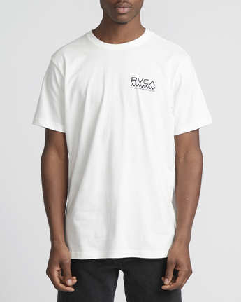 2 Check Mate  - Short Sleeve T-Shirt White Q1SSSDRVF9 RVCA