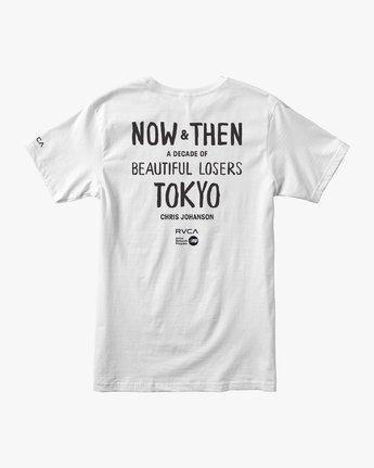 1 Johanson BL Tokyo - T-shirt pour Homme Blanc Q1SSTGRVF9 RVCA