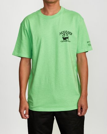 2 Alleged - T-Shirt for Men  Q1SSTIRVF9 RVCA