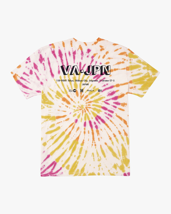 Japan Block - Tie-Dye T-Shirt for Men  Q1SSTVRVF9