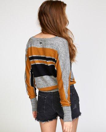 4 Carter  - Striped Sweater  Q3JPRFRVF9 RVCA