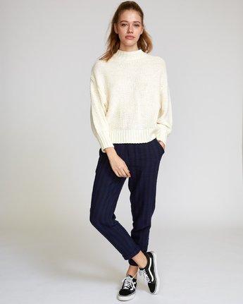 5 Volt  - Knit Mock Neck Sweater  Q3JPRHRVF9 RVCA
