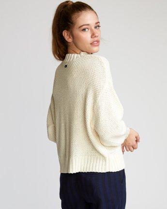 3 Volt  - Knit Mock Neck Sweater  Q3JPRHRVF9 RVCA
