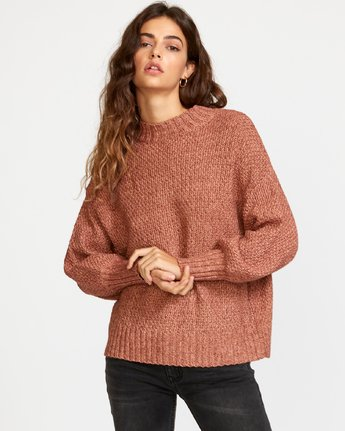 Volt  - Knit Mock Neck Sweater  Q3JPRHRVF9