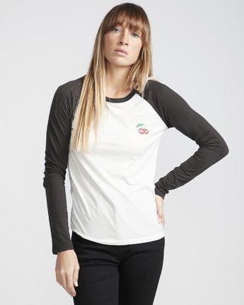 1 Cherries  - T-Shirt pour Femme Blanc Q3LSRARVF9 RVCA