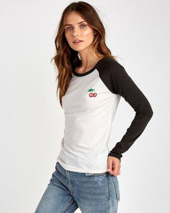 2 Cherries  - T-Shirt pour Femme Blanc Q3LSRARVF9 RVCA