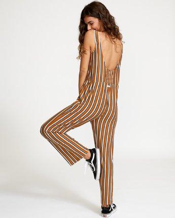 1 Carlton Striped  - Jumpsuit  Q3ONRDRVF9 RVCA
