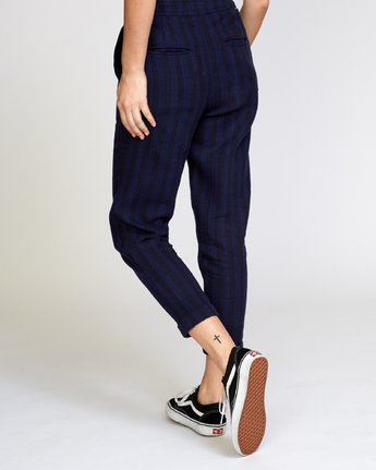 4 Scout  - Striped Trousers  Q3PTRDRVF9 RVCA