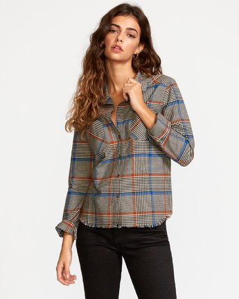 Jordan  - Plaid Button-Up Shirt  Q3SHRCRVF9