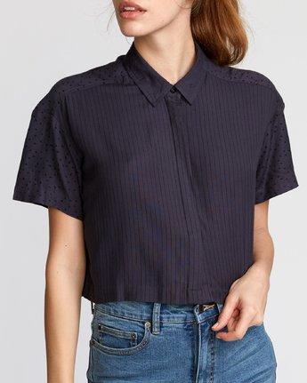 3 Fara  - Woven Shirt Black Q3SHRERVF9 RVCA