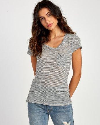 Vinyl  - Short Sleeve Jersey Knit T-Shirt  Q3TPRCRVF9