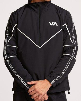 5 Transporter Anorak  - Sports Jacket Black Q4JKMARVF9 RVCA