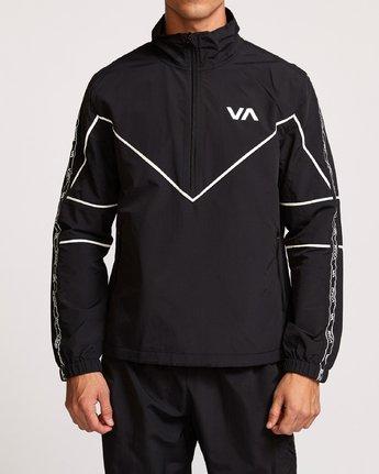 1 Transporter Anorak  - Sports Jacket Black Q4JKMARVF9 RVCA