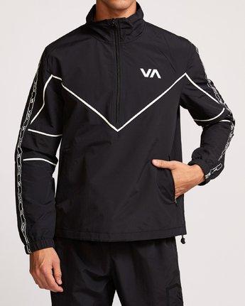2 Transporter Anorak  - Sports Jacket Black Q4JKMARVF9 RVCA