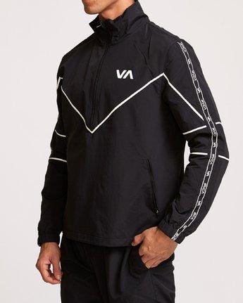 3 Transporter Anorak  - Sports Jacket Black Q4JKMARVF9 RVCA