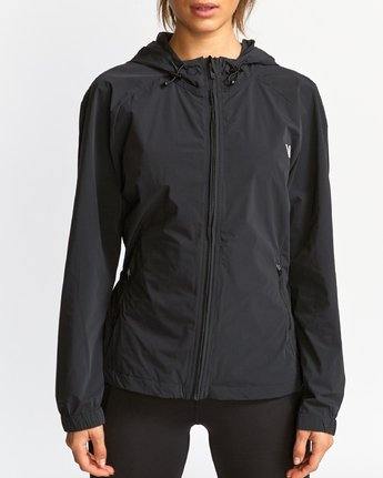4 Flux Tech  - Sports Jacket Black Q4JKWBRVF9 RVCA
