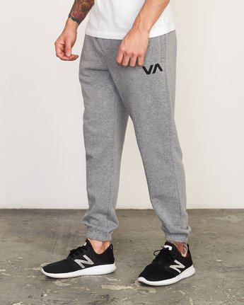 1 Cage II  - Sports SweatTrousers Grey Q4PTMARVF9 RVCA