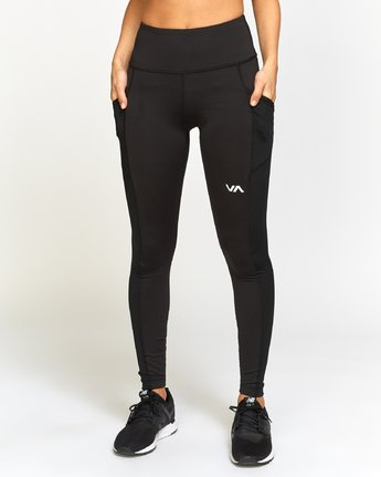 1 Atomic  - Sports High Rise Legging  Q4PTWERVF9 RVCA