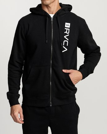 2 Cage  - Athletic Hoodie for Men Black Q4ZHMBRVF9 RVCA