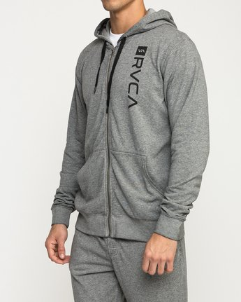 3 Cage  - Athletic Hoodie for Men Grey Q4ZHMBRVF9 RVCA