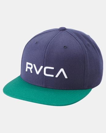 RVCA Twill - Snapback Hat for Men  Q5CPRCRVF9