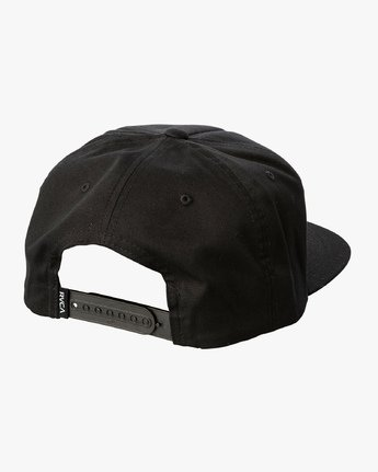 2 Alleged Les - Snapback Cap for Men Black Q5CPTARVF9 RVCA