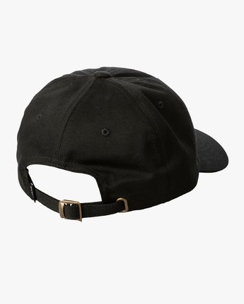 2 ANP Quarterly - Slider Hat for Men Black Q5CPTBRVF9 RVCA