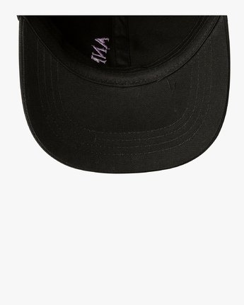 1 ANP Quarterly - Slider Hat for Men Black Q5CPTBRVF9 RVCA