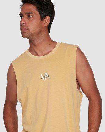 4 VA SANDS MUSCLE Yellow R105002 RVCA