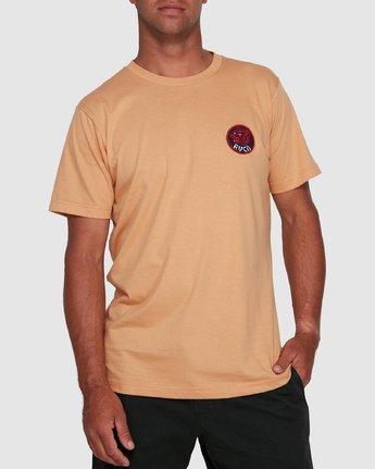 0 DYNASTY SHORT SLEEVE TEE Yellow R105041 RVCA