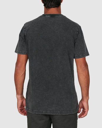 7 RVCA MINI FLIPPED SHORT SLEEVE TEE Black R105048 RVCA
