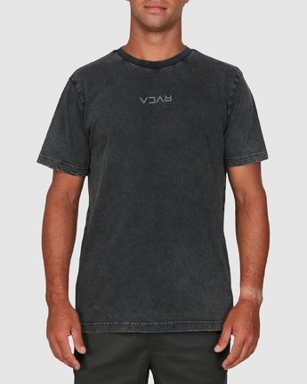 5 RVCA MINI FLIPPED SHORT SLEEVE TEE Black R105048 RVCA