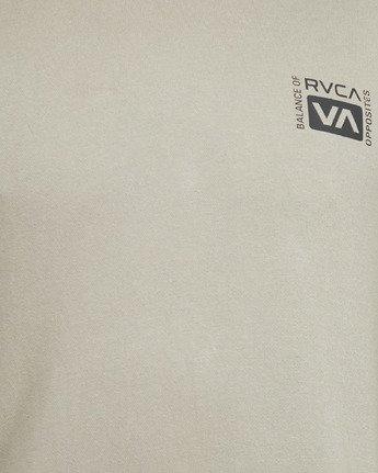 6 VERT LINER PULLOVER FLEECE Green R105151 RVCA