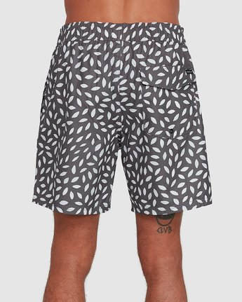 2 RADIAL ELASTIC SHORT Black R105400 RVCA