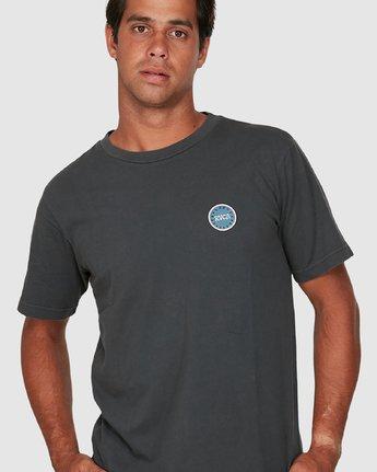 3 Sun Of Rvca Short Sleeve Tee Black R106049 RVCA