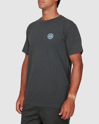 1 Sun Of Rvca Short Sleeve Tee Black R106049 RVCA