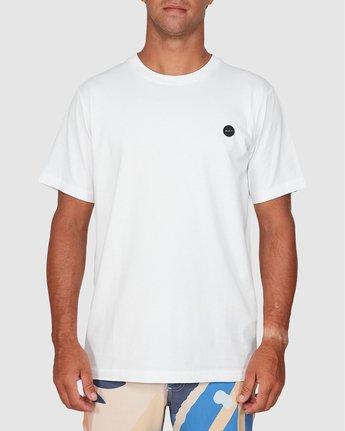 2 Vapor Er Short Sleeve Tee White R106064 RVCA