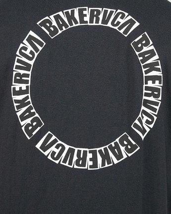 4 Baker Rvca Short Sleeve Tee Black R106068 RVCA