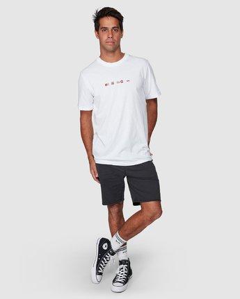 5 All Brand Short Sleeve Tee  R107049 RVCA