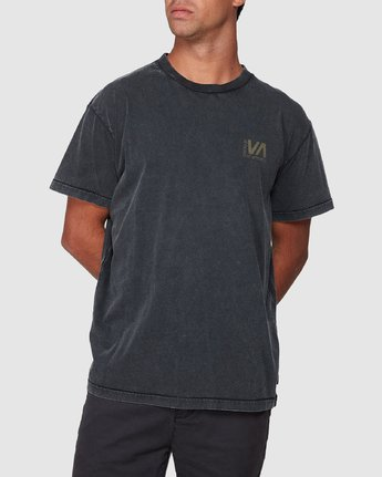 0 Balanced Short Sleeve Tee Black R107050 RVCA