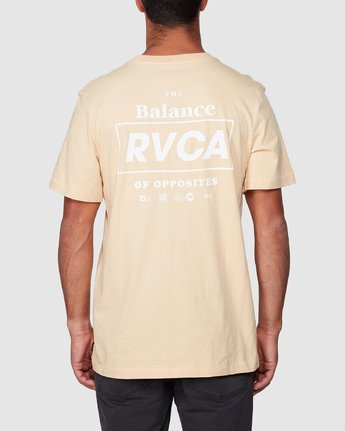3 Boxed In Short Sleeve Tee  R107051 RVCA