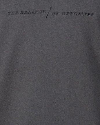 4 Italic Short Sleeve Tee Black R107052 RVCA